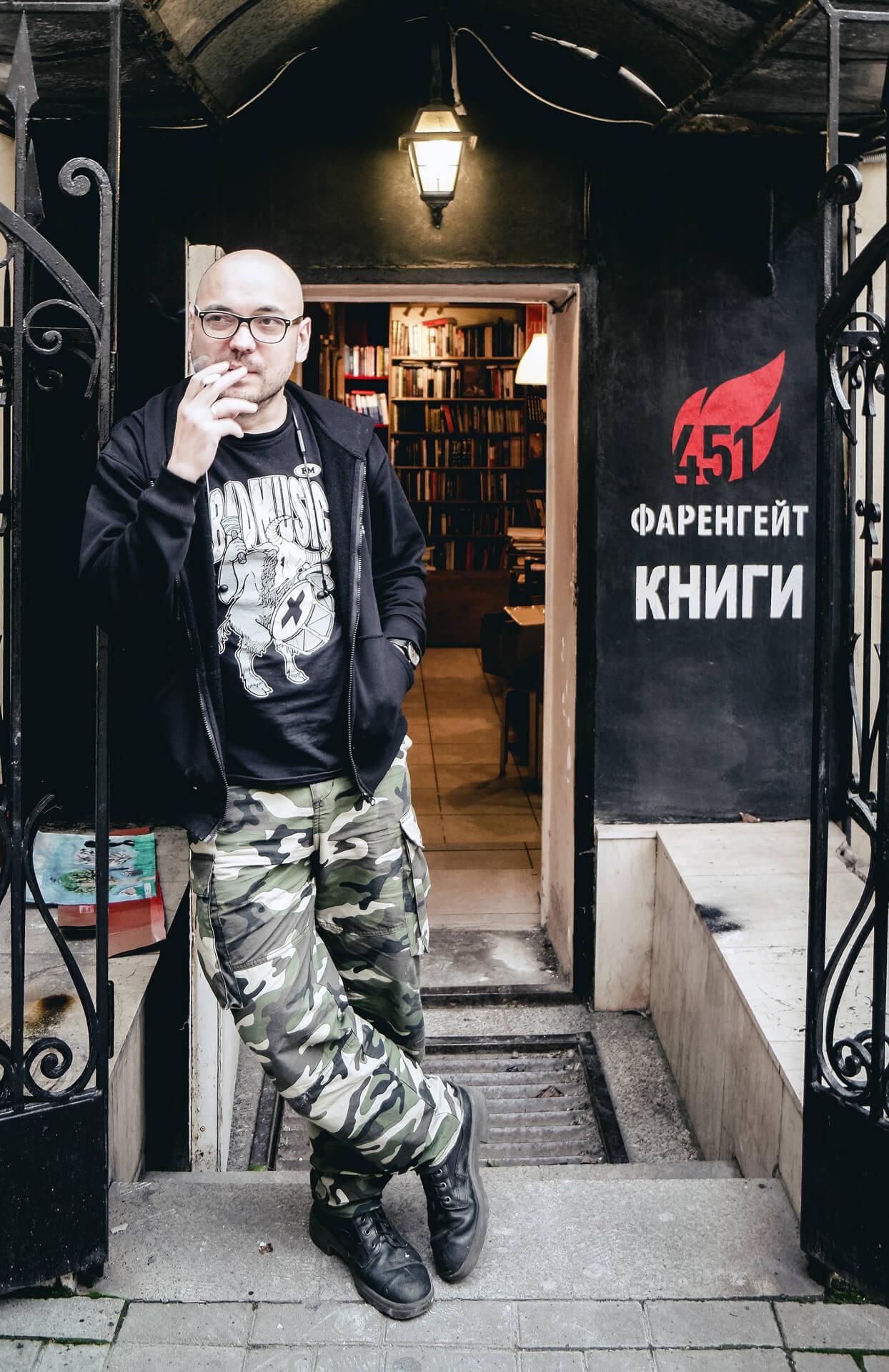 13 вопросов основателю книжного магазина «Фаренгейт»