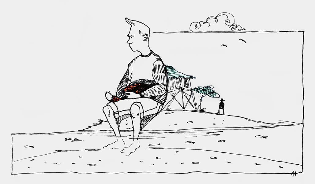 Рассказ «Нюдл как нож»