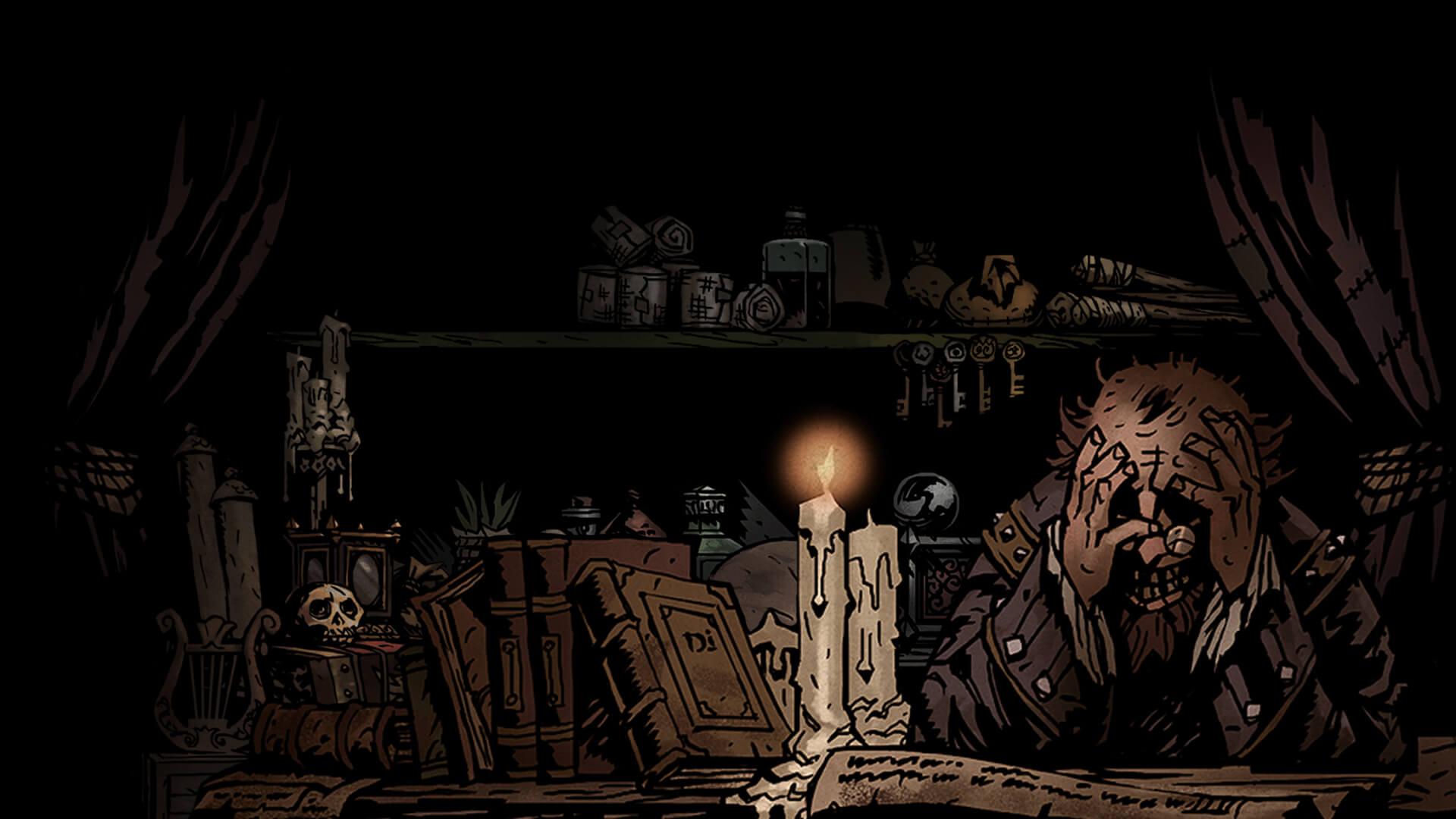 Darkest Dungeon и погасшие факелы
