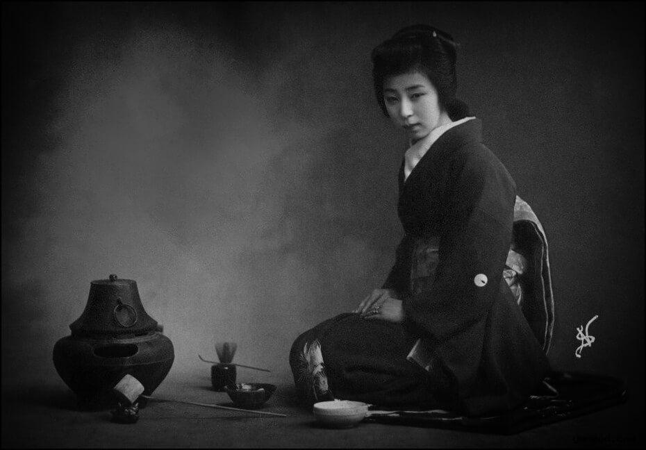 Церемониал: чаепитие и ведьмы
